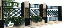 Pagar Rumah Minimalis & Klasik